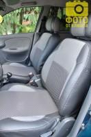 Авточехлы Premium для салона Chevrolet Lanos серая строчка (MW Brothers) с отдельными задними подголовниками