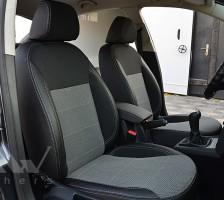 Авточехлы Premium для салона Skoda Octavia A5 '05-13 серая строчка, Ambiente/Elegance (MW Brothers)