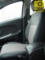 Авточехлы Premium для салона ЗАЗ (Zaz) Forza '11- серая строчка (MW Brothers)