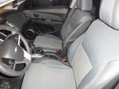 Авточехлы Premium для салона Chevrolet Cruze '09- серая строчка (MW Brothers)
