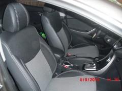 Авточехлы Premium для салона Hyundai Elantra MD '11-15 серая строчка (MW Brothers)