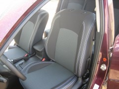 Авточехлы Premium для салона Mazda 3 '04-09 серая строчка (MW Brothers)