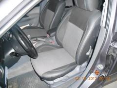 Авточехлы Premium для салона Mazda 6 '02-08 седан, серая строчка (MW Brothers)
