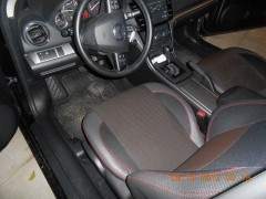 Фото 2 - Авточехлы Premium для салона Mazda 6 '08-12 серая строчка (MW Brothers)