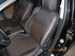 Фото 3 - Авточехлы Premium для салона Mazda 6 '08-12 серая строчка (MW Brothers)