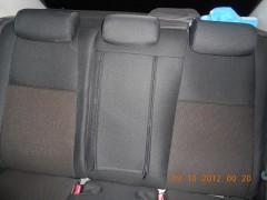 Фото 5 - Авточехлы Premium для салона Mazda 6 '08-12 серая строчка (MW Brothers)