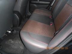 Фото 7 - Авточехлы Premium для салона Mazda 6 '08-12 серая строчка (MW Brothers)