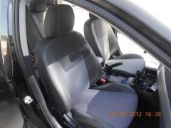 Авточехлы Premium для салона Mitsubishi Lancer X (10) мотор 1. 5, серая строчка (MW Brothers)