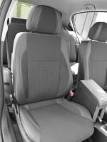 Авточехлы Premium для салона Opel Astra H '04-15, серая строчка (MW Brothers)