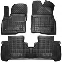 Коврики в салон для Chevrolet Bolt '16- резиновые, черные (AVTO-Gumm)