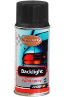 Лак для тонировки фонарей чёрный 400 мл. (Motip)