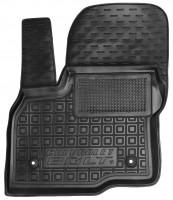 Коврик в салон водительский для Chevrolet Bolt '16- резиновый, черный (AVTO-Gumm)