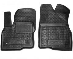 Коврики в салон передние для Chevrolet Bolt '16- резиновые, черные (AVTO-Gumm)