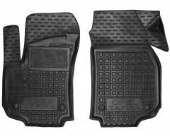 Коврики в салон передние для Opel Zafira B '05-13 резиновые, черные (AVTO-Gumm)