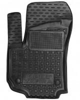 Коврик в салон водительский для Opel Zafira B '05-13 резиновый, черный (AVTO-Gumm)