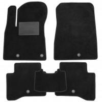 Коврики в салон для Kia Niro '17-, текстильные, черные (Optimal) 5 клипс