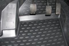 Коврики в салон для Chery Kimo '07- полиуретановые, черные (Novline)