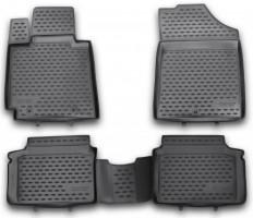 Коврики в салон для Hyundai Veloster '11- полиуретановые (Novline / Element)