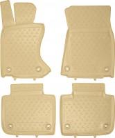 Коврики в салон для Lexus GS 350 с 2012 AWD полиуретановые, бежевые (Novline / Element)