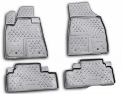 Коврики в салон для Lexus RX '09-12 полиуретановые, серые (Novline / Element)