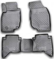 Коврики в салон для Toyota Hilux '11-15 полиуретановые (Novline / Element)