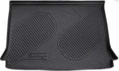 Коврик в багажник для Citroen Berlingo '97-07 (пасс.), полиуретановый (Novline / Element) черный EXP.C000000063