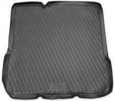 Коврик в багажник для Chevrolet Aveo '11- хетчбэк, полиуретановый (Novline / Element) серый