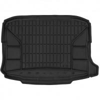Коврик в багажник для Seat Ateca '17-, без органайзера, резиновый, черный (Frogum)