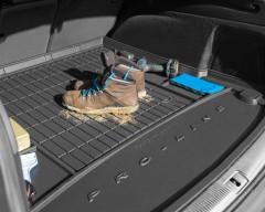 Фото 2 - Коврик в багажник для Seat Arona '17- нижний, резиновый, черный (Frogum)