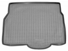 Коврик в багажник для Opel Astra H '04-15, хетчбэк, полиуретановый (Novline / Element) серый