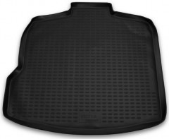 Коврик в багажник для Opel Vectra C '02-08 седан/хетчбэк, полиуретановый (Novline / Element) черный