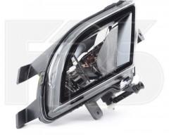 Противотуманная фара для Volkswagen Jetta VI '14- левая, рамка хром. (DEPO)