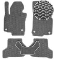 Kinetic Коврики в салон для Lexus ES '19-, EVA-полимерные, серые (Kinetic)