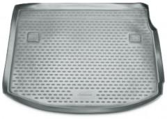 Коврик в багажник для Renault Megane '08-16 хетчбэк, полиуретановый (Novline / Element) серый