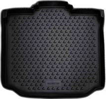 Коврик в багажник для Skoda Roomster '07-, полиуретановый (Novline / Element) черный