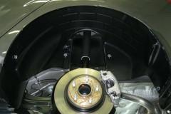 Подкрылок задний левый для Ford Focus III '11-, хетчбек/седан (Novline)