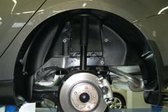 Подкрылок задний правый для Ford Focus III '11-, хетчбек/седан (Novline)