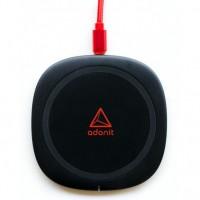 Беспроводное зарядное устройство Adonit Charging Pad (3123-17-07-A) Black