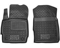 Фото 1 - Коврики в салон передние для Ford КА+ '19- резиновые, черные (AVTO-Gumm)