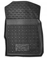 Фото 3 - Коврики в салон передние для Ford КА+ '19- резиновые, черные (AVTO-Gumm)