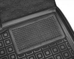 Фото 4 - Коврики в салон передние для Ford КА+ '19- резиновые, черные (AVTO-Gumm)