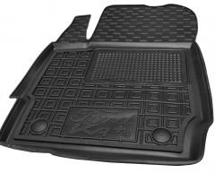 Фото 5 - Коврики в салон передние для Ford КА+ '19- резиновые, черные (AVTO-Gumm)