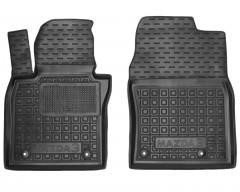 Фото 1 - Коврики в салон передние для Mazda 3 '19- резиновые, черные (AVTO-Gumm)