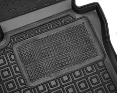 Фото 4 - Коврики в салон передние для Mazda 3 '19- резиновые, черные (AVTO-Gumm)