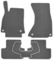 Фото товара 2 - Коврики в салон для Audi A4 '08-15, EVA-полимерные, серые (Kinetic)