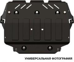 Фото 1 - Защита двигателя для Volkswagen Polo '17-, 1.4 TSi, АКПП/МКПП (Полигон-Авто)