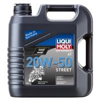 LIQUI MOLY Motorbike 4T 20W-50 Street (4 л.)