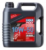 LIQUI MOLY Motorbike 4T Synth 10W-50 Street Race (4 л.)