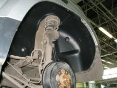 Подкрылок задний правый для Renault Duster '10- (Novline)
