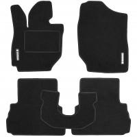 Коврики в салон для Suzuki Jimny '19-, текстильные, черные (Стандарт)